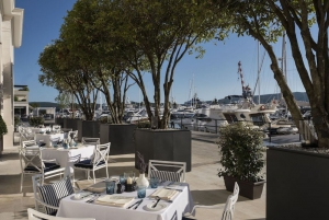Dining Room Terrace Regent Porto Montenegro