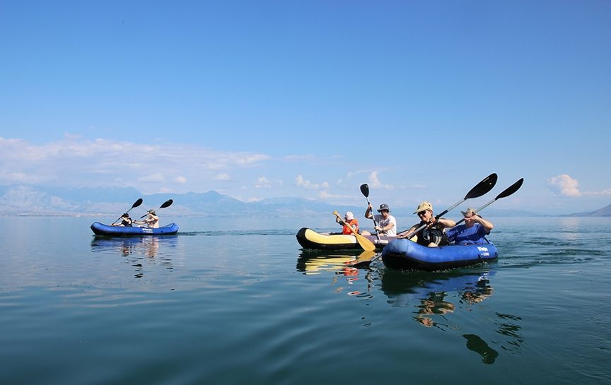 Skadar Lake Kayaking