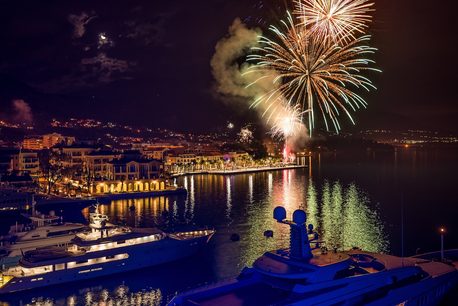 New Year in Tivat