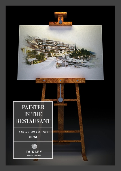 Painters in the Restaurant