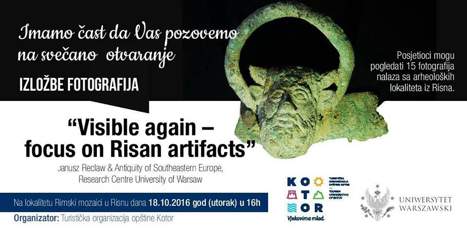 Visible again - Focus on Risan Artefacts