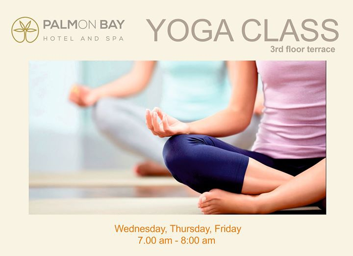 Yoga Classes - Complementary Service