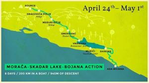 Morača - Skadar Lake - Bojana action