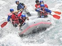 White water rafting in Montenegro
