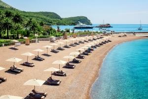 Beach close to Sveti Stefan