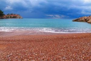 Beach in front of Villa Milocer