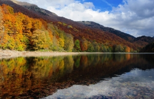 Biograd Lake Autumn colours