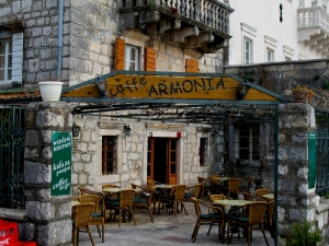 Cafe Armonia, Perast