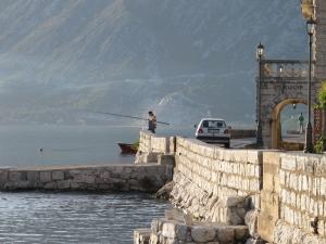 Kotor Bay - Fishing at Perast