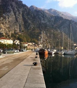 Marina in Kotor