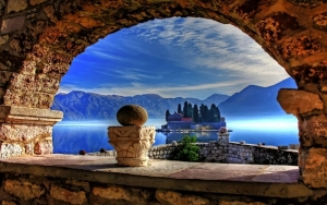 Mystical view across Kotor Bay