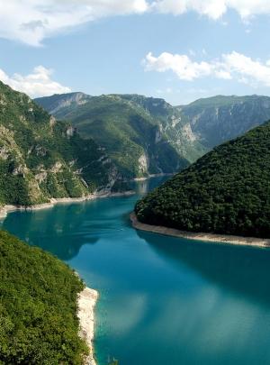 Piva Lake, Durmitor