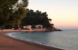 Queens Beach near Sveti Stefan