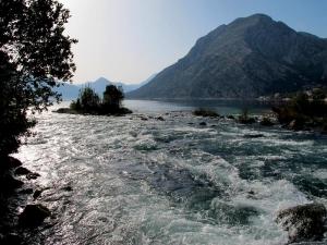 View from Stari Mlini Restaurant Kotor Bay