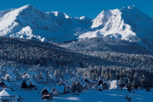Winter in Durmitor National Park