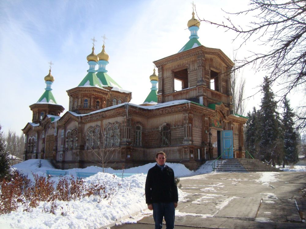 Wooden Orthodox Church - Karakol