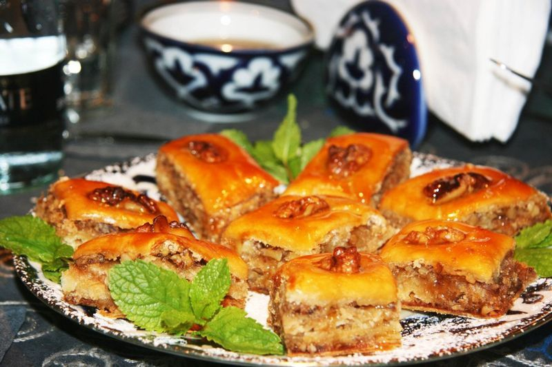 Baklava at Uruk Café (Credit: Alex Plim)