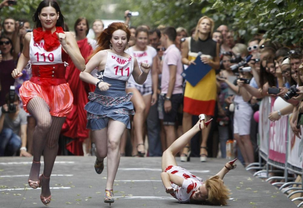 Russia: The Decline of the High Heel?