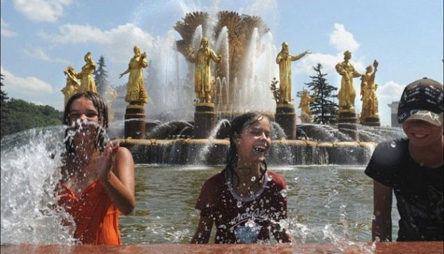 Summertime in Moscow