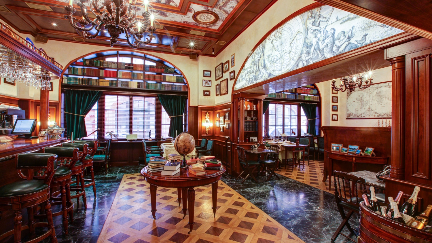 Russian geographic society restaurant in moscow my guide for Restaurant guide
