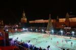 Gum Skating rink on the Red Square