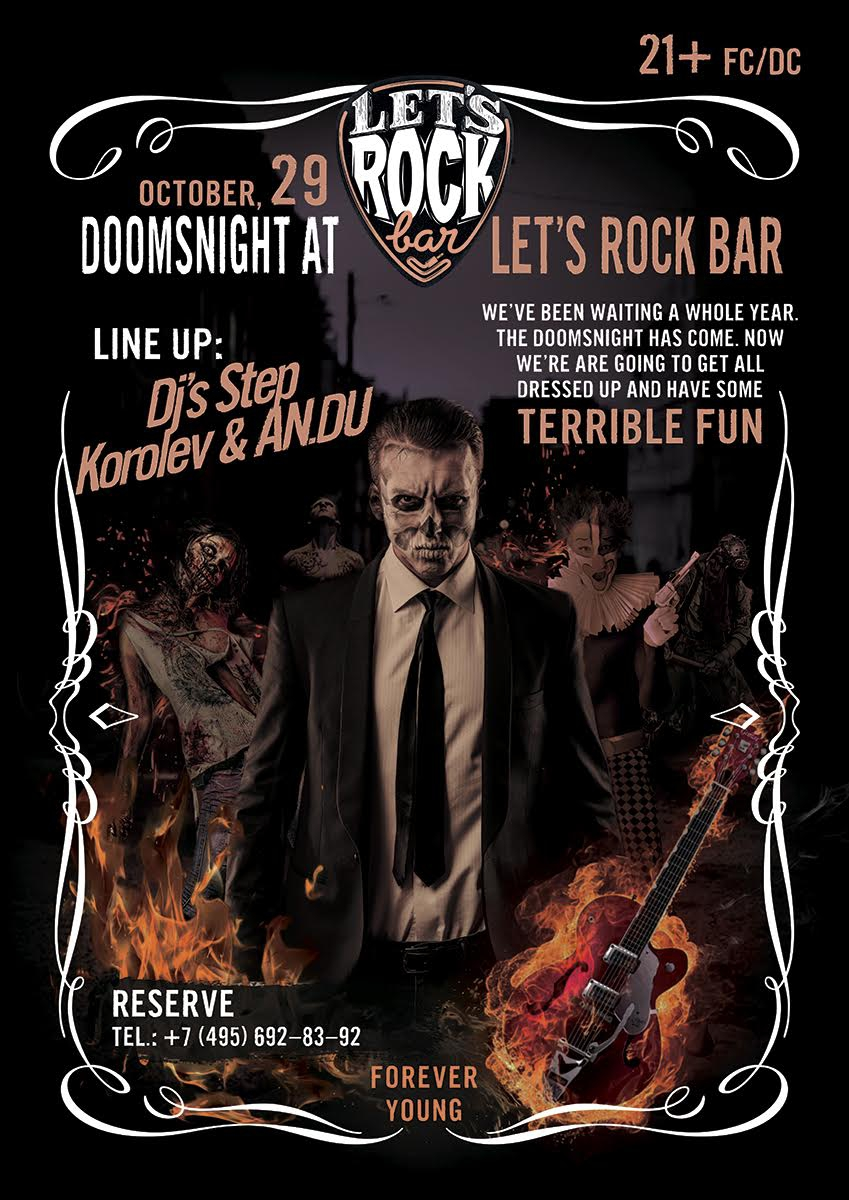 Halloween in Let's Rock Bar