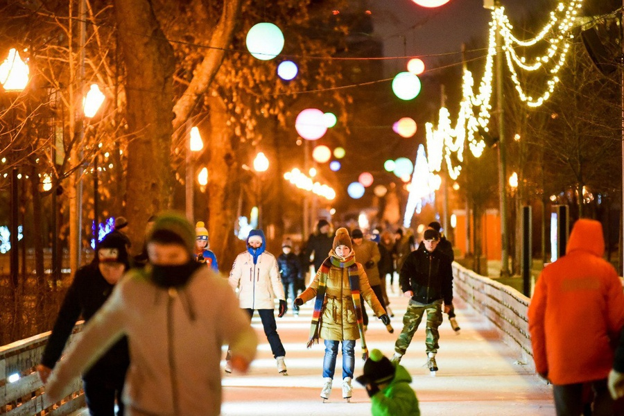New Year Party in Gorky Park