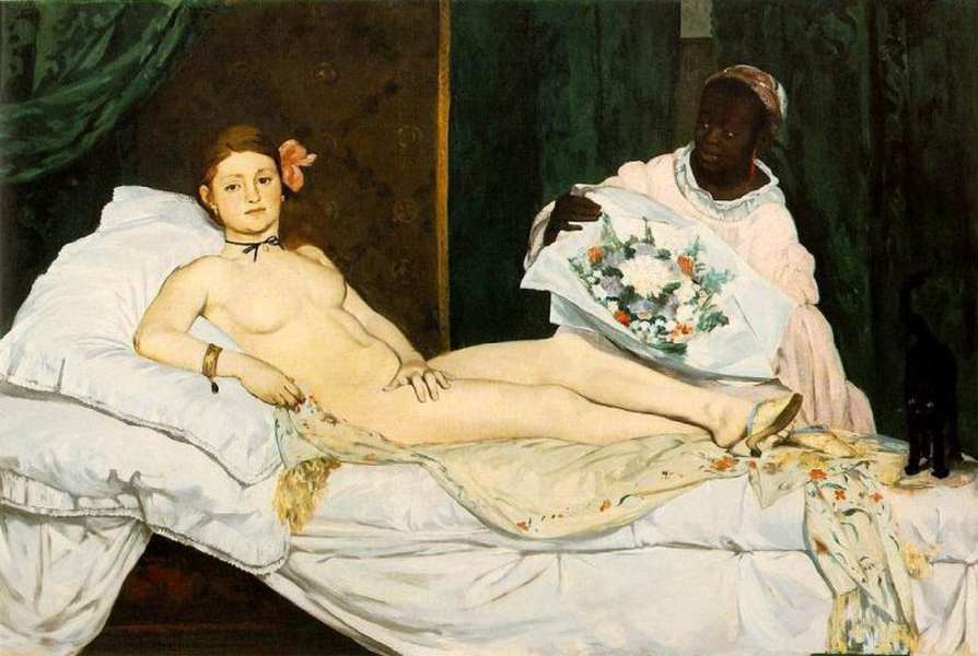 Olympia by Édouard Manet