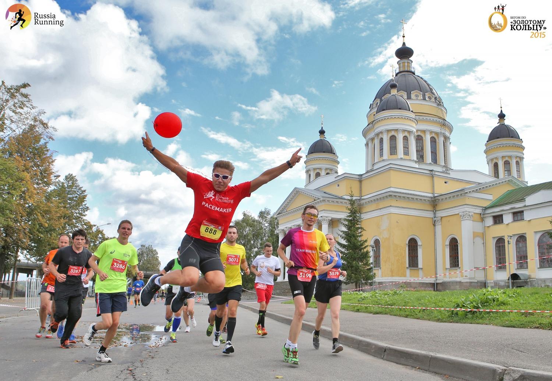 """Running Project """"Golden Ring"""", Yaroslavl"""