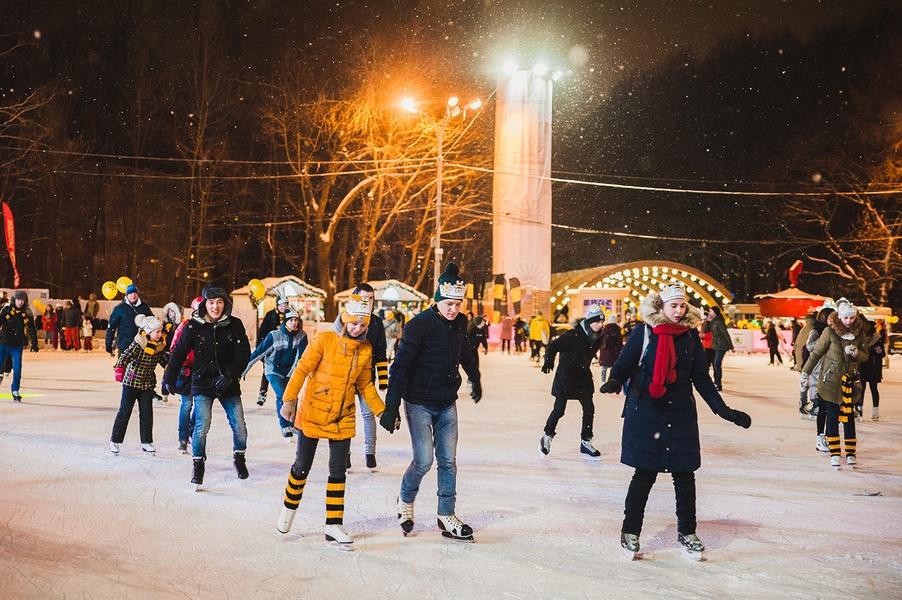 Winter Season in Sokolniki