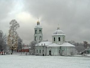 Church in Tsaritsino Estate