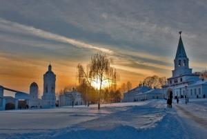 Kolomenskoye Estate in Winter