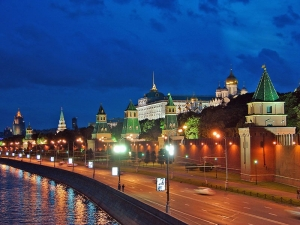 Kremlin by night