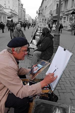 Old Arbat Painter