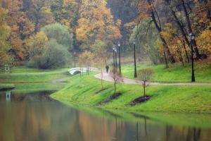Ponds in Tsaritsino Estate