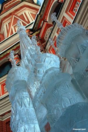 St.Basil's Church Ice figure