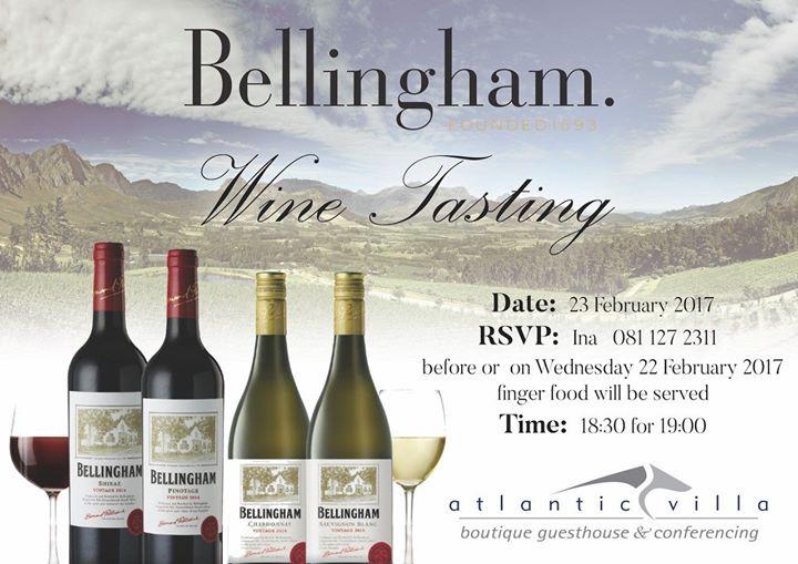 Bellingham Wine Tasting