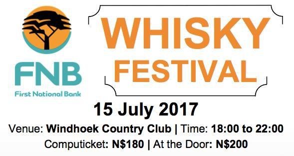 FNB Namibia Whisky Festival 2017