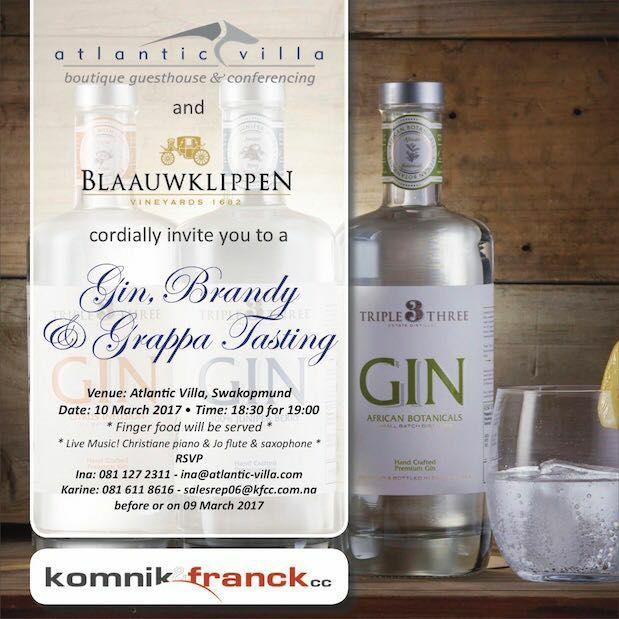 Gin, Brandy & Grappa Tasting