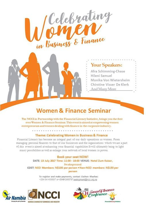 Ncci-Fli Women & Finance Seminar