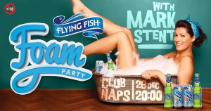 Flying Fish Foam Party with Mark Stent