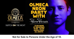 Olmeca Tequila Neon Party with DJ Pierre Pressure