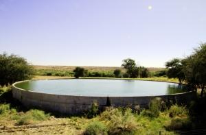 Auob Farm Dam