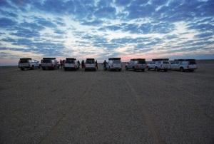 Desert Convoy. African Sun Car Hire