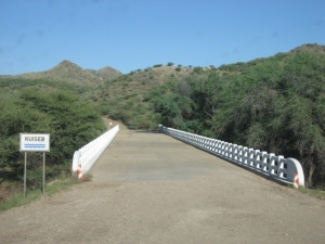 Most rivers has bridge crossings in Namibia