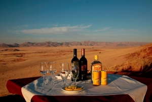 Sundowners in the Namib