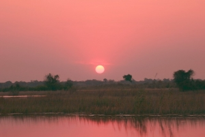 Sunset over the Lyianti River