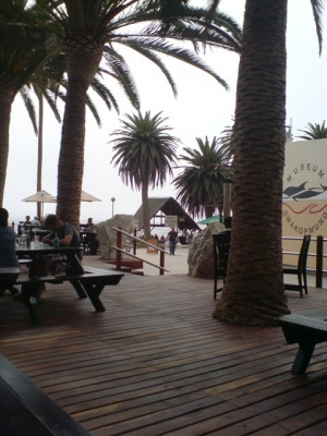 The mole in Swakopmund, great for socialising