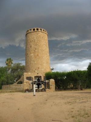Von Franke tower in Omaruru