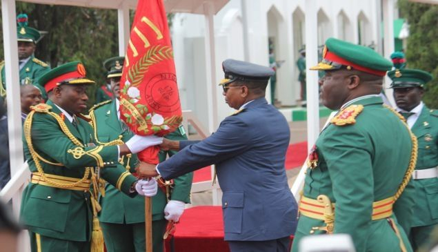 President Jonathan change of parade during the 2011 Independence day celebration